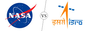 Difference between NASA and ISRO