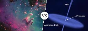 Nebula vs Protostar