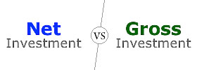 Net Investment vs Gross Investment