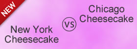 New York Cheesecake vs Chicago Cheesecake