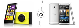 Nokia Lumia 1020 vs HTC One