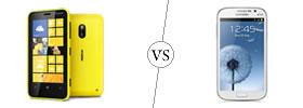 Nokia Lumia 620 vs Samsung Galaxy Grand