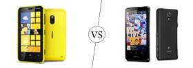 Nokia Lumia 620 vs Sony Xperia T