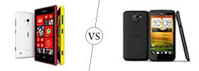 Nokia Lumia 720 vs HTC One X