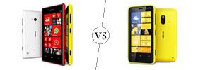 Nokia Lumia 720 vs Nokia Lumia 620