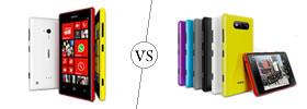 Nokia Lumia 720 vs Nokia Lumia 820