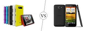 Nokia Lumia 820 vs HTC One X
