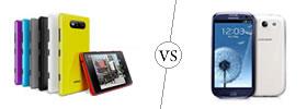 Nokia Lumia 820 vs Samsung Galaxy S3