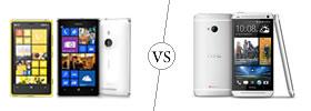 Nokia Lumia 925 vs HTC One