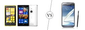 Nokia Lumia 925 vs Samsung Galaxy Note II