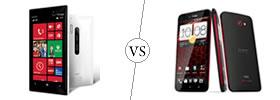 Nokia Lumia 928 vs HTC Droid DNA