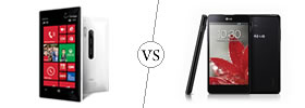 Nokia Lumia 928 vs LG Optimus G