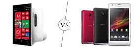 Nokia Lumia 928 vs Sony Xperia SP