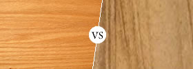 Oak vs Teak Wood