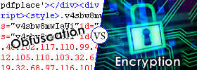 Difference between Obfuscation and Encryption