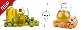 Difference between Olive Oil and Almond Oil