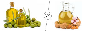 Olive Oil vs Almond Oil