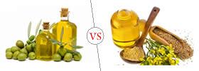 Olive Oil vs Mustard Oil