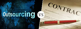 Outsourcing vs Contract