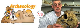 Difference between Paleoanthropologist and Archaeologist