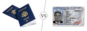 Passport Book vs Passport Card