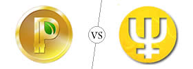 Difference between Peercoin and Primecoin