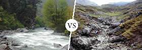 Perennial vs Non-Perennial Rivers