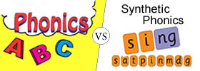 Difference between Phonics and Synthetic Phonics