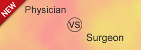 Difference between Physician and Surgeon