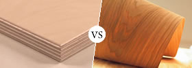 Plywood vs Veneer
