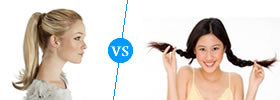 Ponytail vs Pigtail