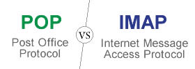 Difference between POP and IMAP protocol