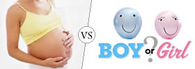 Difference between Pregnancy with Boy and Girl