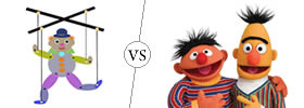 Difference between Puppet and Muppet