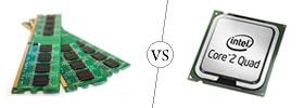 RAM vs CPU