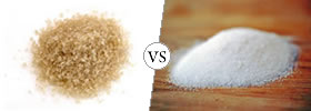 Raw Sugar vs White Sugar