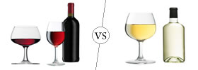 Red vs White wine