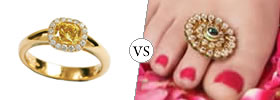 Ring vs Toe Ring
