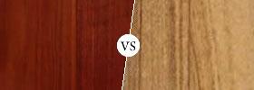 Rosewood vs Teak Wood