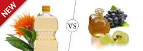 Safflower vs Grape Seed Oil