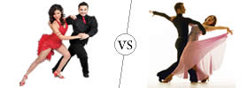 Difference between Salsa and Ballroom Dance