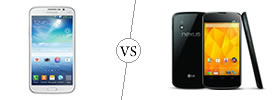 Samsung Galaxy Mega 5.8 vs Nexus 4