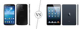 Samsung Galaxy Mega 6.3 vs iPad Mini