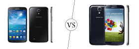 Samsung Galaxy Mega 6.3 vs Samsung Galaxy S4