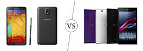 Samsung Galaxy Note 3 vs Sony Xperia Z Ultra
