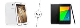 Samsung Galaxy Note 8.0 vs Nexus 7