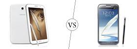 Samsung Galaxy Note 8.0 vs Samsung Galaxy Note II