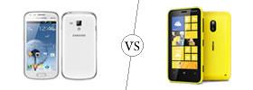 Samsung Galaxy S Duos vs Nokia Lumia 620