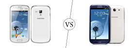 Samsung Galaxy S Duos vs Samsung Galaxy S3