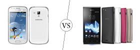 Samsung Galaxy S Duos vs Sony Xperia J